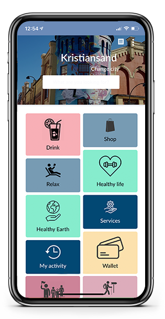 aispot app screenshot showing sustainability choices