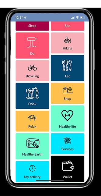 aispot app sustainability feature