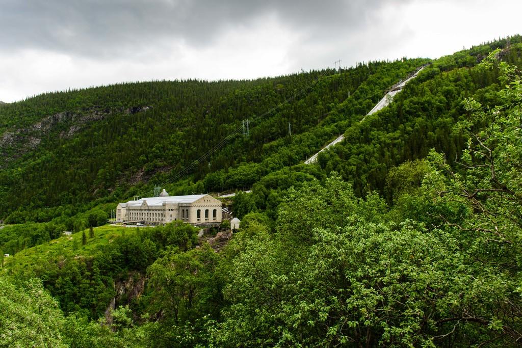 Industriarven Vemork Telemark